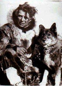 Leonhard Seppala y su perro líder Togo